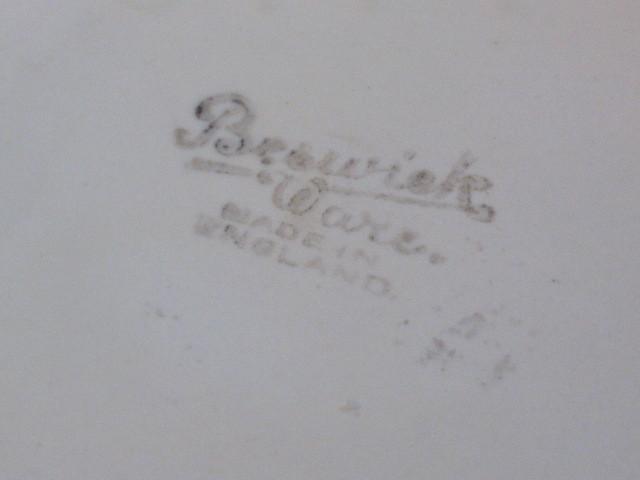 Vintage Beswick Pottery Floral Fan Shaped Vase 844-1, 1930s -1950 Art Pottery