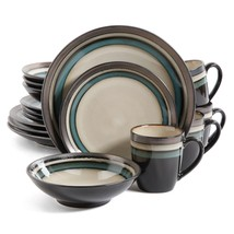Gibson Lewisville 16pc Dinnerware Set. Dishwasher Safe, Stoneware, Conte... - $49.99