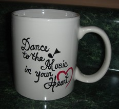 Personalized Ceramic Mug   Dance to the Music i... - $12.50