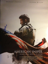 "Cast Signed American Sniper 27"" x 40"" double sided theatrical Premier Mo... - $608.00"
