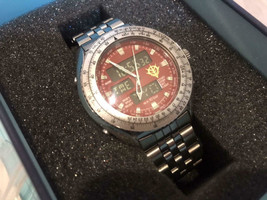 citizen chronograph gundam zeon char watch urtra rare vintage men's limited - $692.99