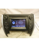 15 16 17 Toyota Camry Touch Screen Radio Cd Player 100366 86140-06390 XQE78 - $228.69