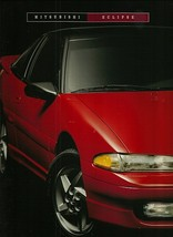 1993 Mitsubishi ECLIPSE brochure catalog US 93 GS Turbo GSX - $8.00