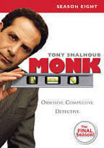 Monk: Season Eight (DVD, 2010) - $36.00