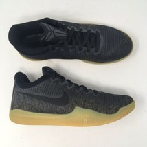 Nike Men's Sz 8.5 Kobe Mamba Rage PRM Black Gum Sole Basketball Shoes AJ... - $82.50