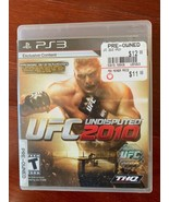PS3 UFC Undisputed 2010 Rated T Sony PlayStation 3 Game Mix Martial Arts... - $16.83