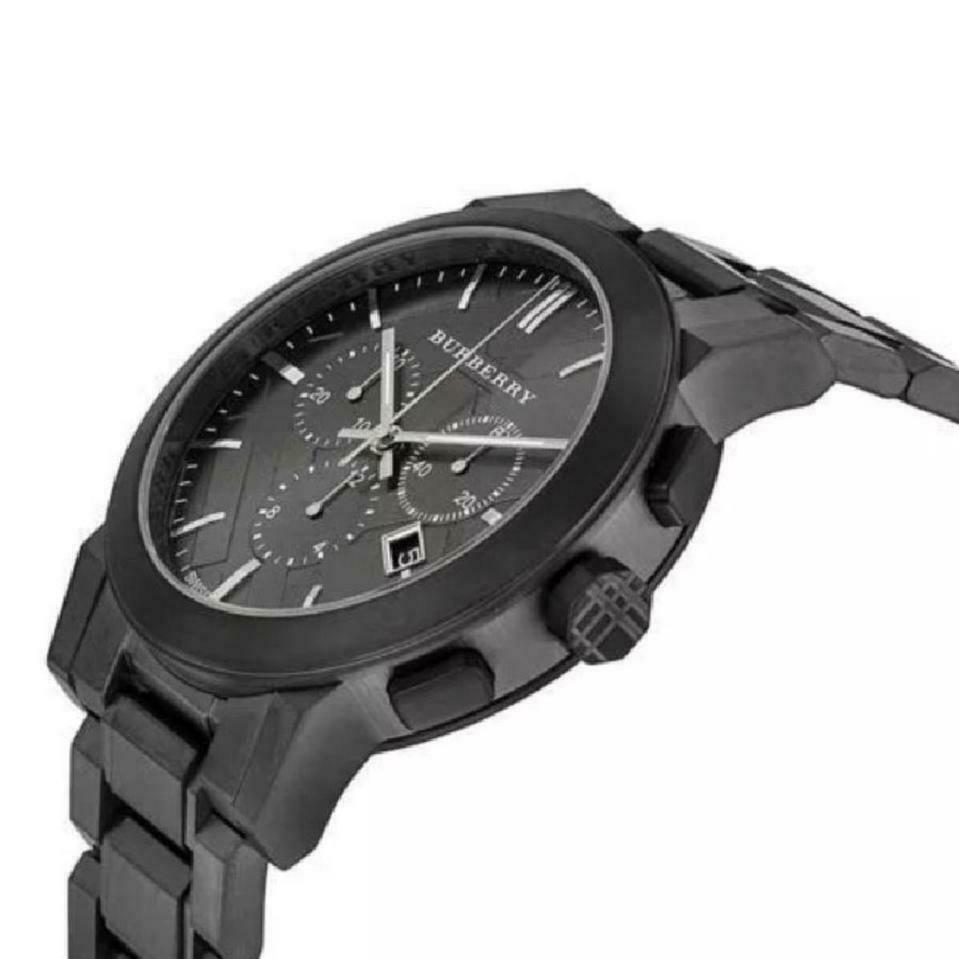 Burberry BU9354 Ion Plated Sport Swiss Made Mens Watch