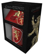 Game Of Thrones Lannister Mug, Coaster and Keychain Gift Set - $12.79
