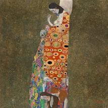 "Gustav Klimt ""HOPE II"" HD print on canvas huge wall picture 24x24"" - $24.74"