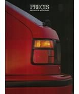1990 Mitsubishi PRECIS sales brochure catalog folder US 90 RS Hyundai - $6.00