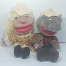 Vintage Animal Fair Shotgun Red And Miss Daisy Hee Haw Muppet Plush Stuf... - $7.99