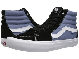 NEW VANS SK8 HI PRO BLACK INFINITY SURF MX BMX SKATEBOARD HIP HOP SPORTS... - £47.84 GBP