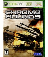 Chrome Hounds Microsoft Xbox 360 2006 SEGA - $12.99