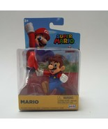 Super Mario with Cap Jakks Pacific Figure and Base Collectible Figurine - $12.99