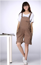 Maternity Trousers Pregnant  Overalls Belly Shorts Adjustable Plus Jumps... - $26.99