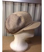 Faded Glory Poof Hat Cap Beige (b24) - $9.49