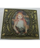 """Trinket Jewelry Box """" Portrait of a Young Girl """" Renoir 1841-1919 Made i... - $14.84"""