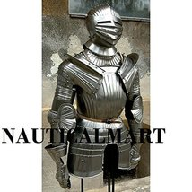 German Maximilian half armor 1515 reenactment LARP Suit Of Armor - $899.11