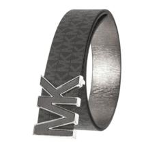 Michael Kors Women's Premium MK Logo Signature Plaque Faux Leather Belt 553504 image 4