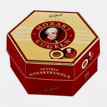 Victor Schmidt MOZART marzipan nougat balls GIFT BOX -FREE SHIPPING - $19.79