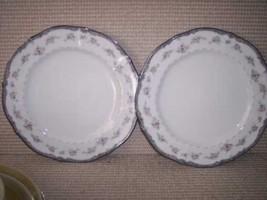 * 2 Noritake TRAVIATA Ivory Dinner Plates  - $18.24