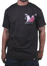 Motivation Ann Arbor Noir Hommes University Aviron Club T-Shirt USA Fabriqué Nwt image 3