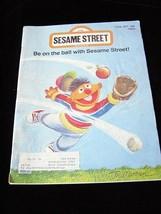 Sesame Street Magazine June 1977 Ernie - $15.00