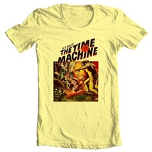 The Time Machine T-shirt vintage Sci Fi movie free shipping 100% cotton image 2
