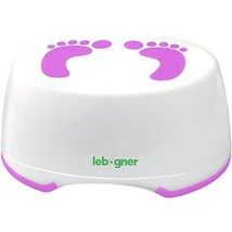 Child Step Stool by Lebogner - Comfortable Anti-Slip Foot Stool Perfect for Todd