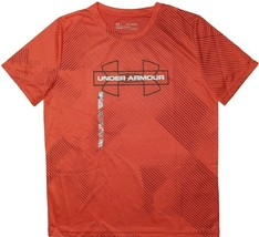 UNDER ARMOUR JACQUARD PRINTED KIDS T-SHIRT SIZE XL NEW RED WHITE BLACK R... - $24.99