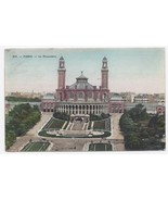 1909 – The Trocardero Gardens, Paris, France - Used - $4.99