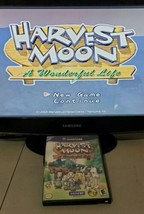 Harvest Moon: A Wonderful Life (Nintendo GameCube, 2004) Tested No Manual - $24.70