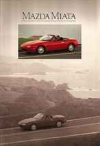 1990 Mazda MX-5 MIATA 1st Edition sales brochure catalog US 90 - $10.00