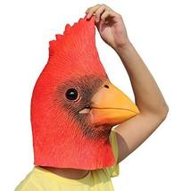 CreepyParty Deluxe Novelty Halloween Costume Party Latex Bird Cardinals ... - £18.58 GBP