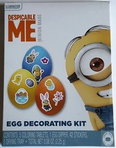 NEW Despicable Me Easter Egg Decorating Kit And Stickers FREE WORLDWIDE ... - $7.91