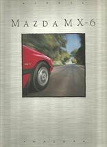 1991 Mazda MX-6 sales brochure catalog US 91 LX LE GT - $8.00
