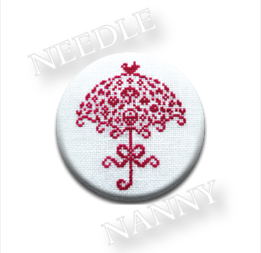 Umbrella Needle Nanny cross stitch JBW Designs