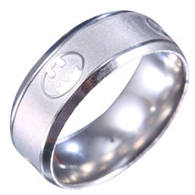BATMAN BAND RING   **SIZE 10.2**    (12503)   WE COMBINE SHIPPING - $4.75