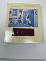 JC Penny Vintage Window Curtains New In Package 68 x 45 - $31.68