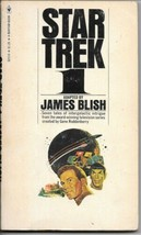 Star Trek 1 Paperback Book James Blish Bantam 1975 FINE+ - $3.50