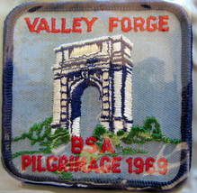 1969 Valley Forge Council Pilgrimage Patch - $9.18