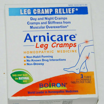 Boiron Arnicare Leg Cramps Homeopathic Medicine 33 Tablets Ex 4/21 NEW - $10.99