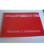 1988 Porsche 911 Owners Maintenance Book Carrera maintenance schedule Re... - $69.29