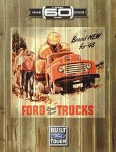 2008 Ford F-SERIES 60th ANNIVERSARY brochure catalog folder F-150 SUPER ... - $8.00
