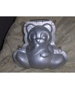 Wilton Retired Vintage 3 D Stand Up Cuddly Teddy Bear Cake Pan with Cent... - $22.00