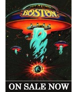 BOSTON Band Self Titled Album Promo Custom Stand-Up Display - Rock Music - $16.99
