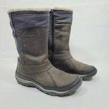 Merrell Women's Murren Mid Waterproof Boots Pewter Size 6.5 Brown 200G Insulated - $87.99