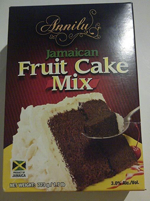 ANNILU JAMAICAN FRUIT CAKE MIX 773 G (PACK of 3)