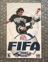 FIFA 2001 **ORIGINAL MANUAL ONLY** Sony PS2 PlayStation 2 - $4.27