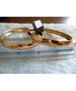 Hypoallergenic Women's Large Gold Hooped Earrings - $3.99